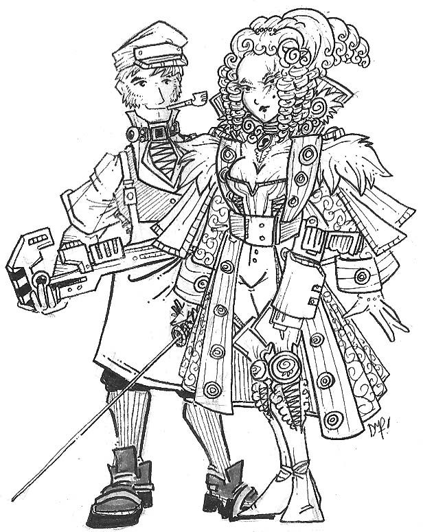 Imperial Engineer and Noblewoman